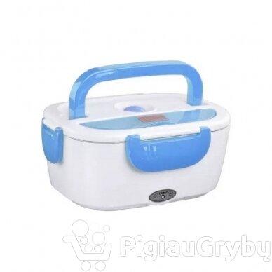 Elektrinė priešpiečių dėžutė, mėlyna 2