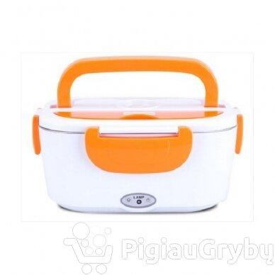 Elektrinė priešpiečių dėžutė, oranžinė