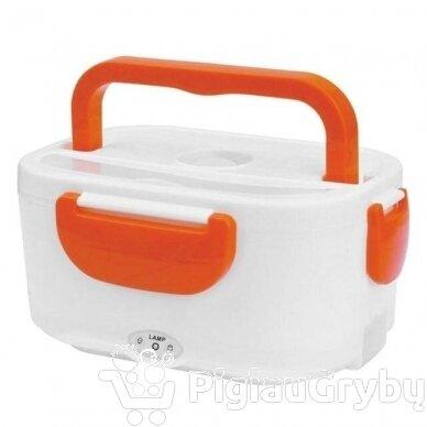 Elektrinė priešpiečių dėžutė, oranžinė 3