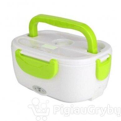 Elektrinė priešpiečių dėžutė, žalia 2