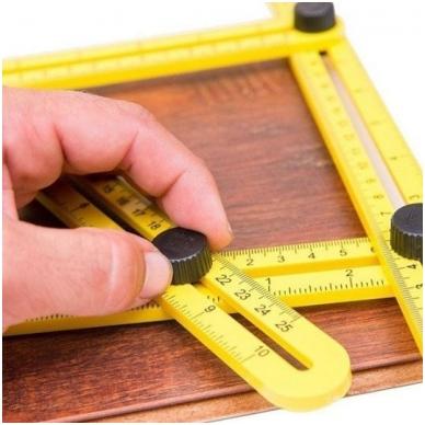 Įrankis - šablonas kampų supjovimui 4