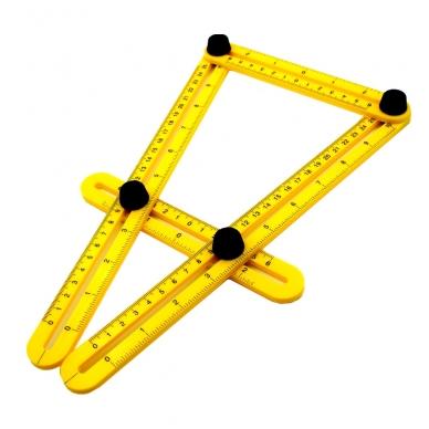 Įrankis - šablonas kampų supjovimui 8