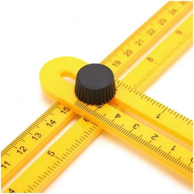 Įrankis - šablonas kampų supjovimui 9
