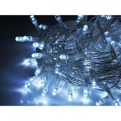 Kalėdinė girlianda, 100 LED, balta
