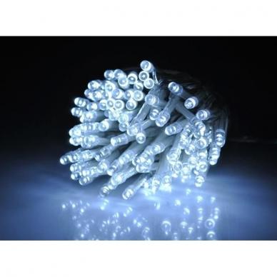Kalėdinė girlianda, 100 LED, balta 3