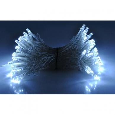 Kalėdinė girlianda, 100 LED, balta 4