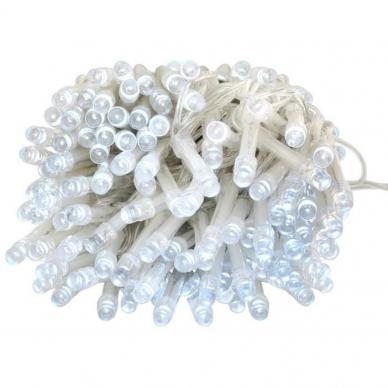 Kalėdinė girlianda, 100 LED, balta 5