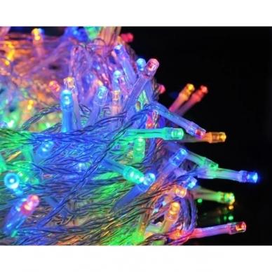 Kalėdinė girlianda, 100 LED, įvairiaspalvė 3