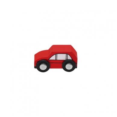 Medinis traukinys su bėgiais - 48 elementų žaislas 4