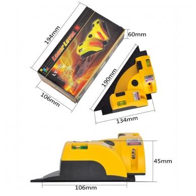 Plytelių klojimo (kampų) lazeris 3