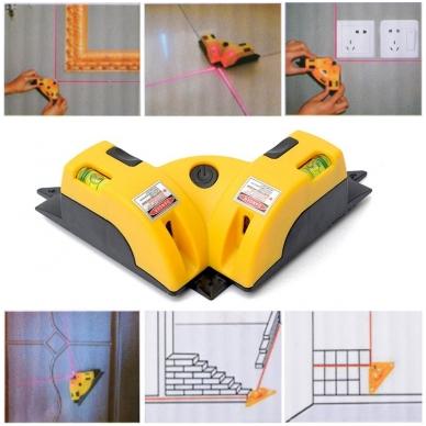 Plytelių klojimo (kampų) lazeris 4