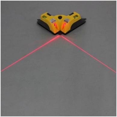 Plytelių klojimo (kampų) lazeris 7