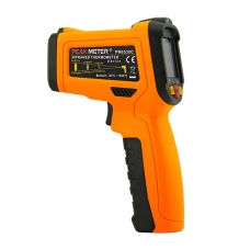 Skaitmeninis bekontaktis IR spindulių termometras PEAKMETER PM6530C