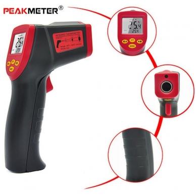 Skaitmeninis bekontaktis infraraudonųjų spindulių termometras -32 ~ 530 C