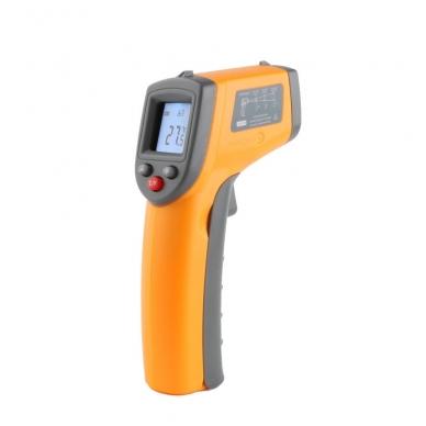 Skaitmeninis bekontaktis infraraudonųjų spindulių termometras -50 ~ 360 C 5