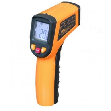 Skaitmeninis bekontaktis infraraudonųjų spindulių termometras -50 ~ 400 C