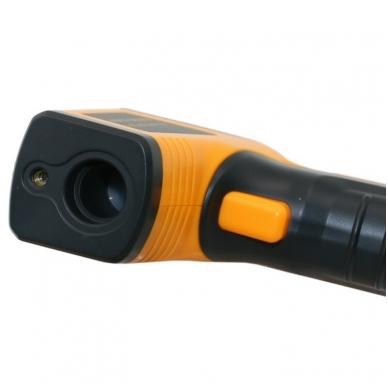 Skaitmeninis bekontaktis infraraudonųjų spindulių termometras -50 ~ 400 C 4