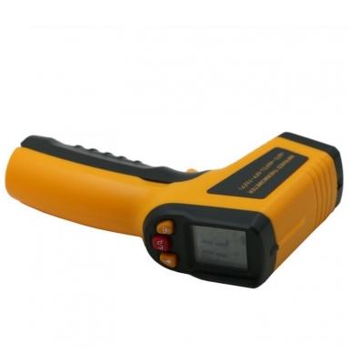 Skaitmeninis bekontaktis infraraudonųjų spindulių termometras -50 ~ 400 C 6