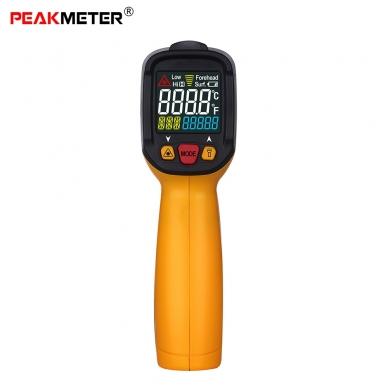 Skaitmeninis bekontaktis IR spindulių termometras PEAKMETER PM6530A 2