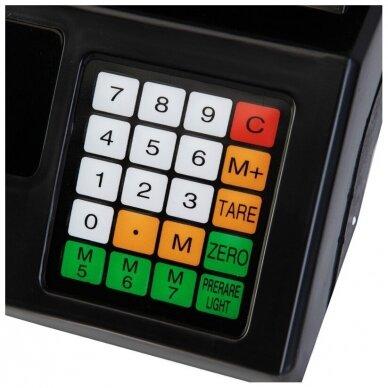 Svarstyklės su kainų skaičiavimo funkcija ir 6 LCD ekranais 4