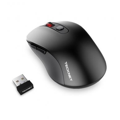 TeckNet M001 juodos spalvos 2.4GHz bevielė pelė