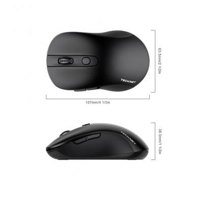 TeckNet M001 juodos spalvos 2.4GHz bevielė pelė 4