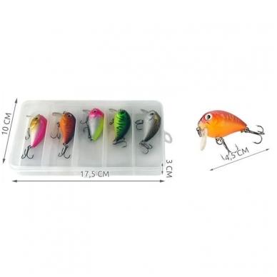 Voblerių rinkinys žvejams 8
