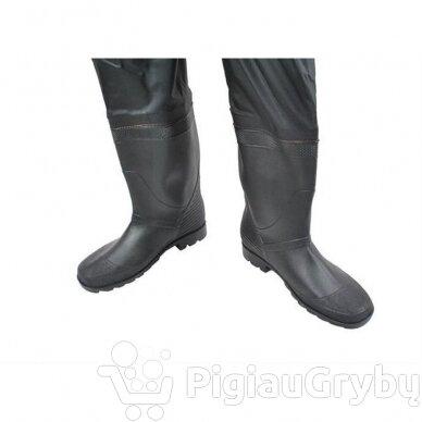 Žvejybinės bridkelnės su batais, 43 dydis 5